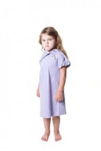 Sugar Plum Short Sleeve Lounge Dress KQO