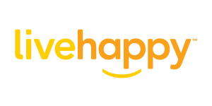 live happy logo