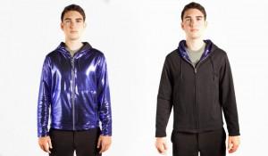 purple disco hoodie