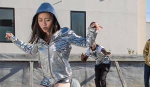 women's disco hoodie