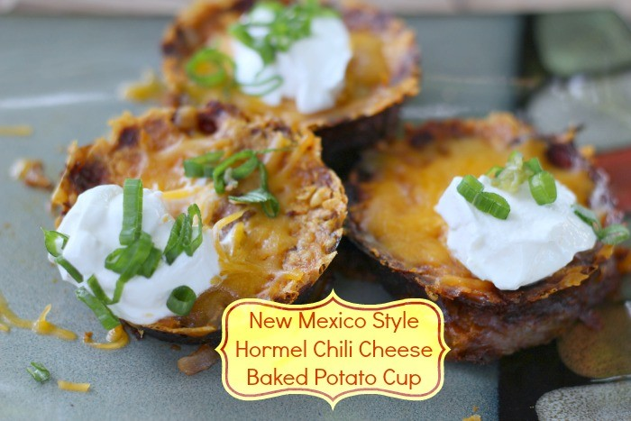 New Mexico Style Hormel Chili Cheese Baked Potato Cup