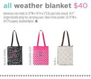 initals inc all weather blanket