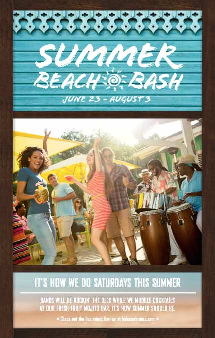 Celebrate Summer At Bahama Breeze& Enter The #BBSelfie Contest