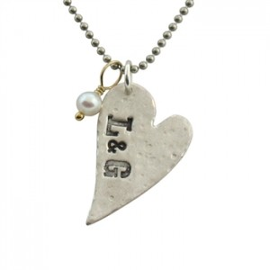 isabelle grace distressed heart necklace 2
